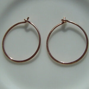 Small Hand forged Hoops