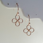 Rose Gold 4 Way Earrings