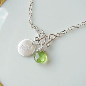 peridot-charm-bracelet