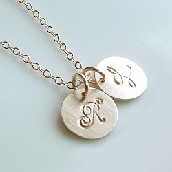 Initial and Monogram Necklaces