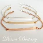 skinny bar bracelet