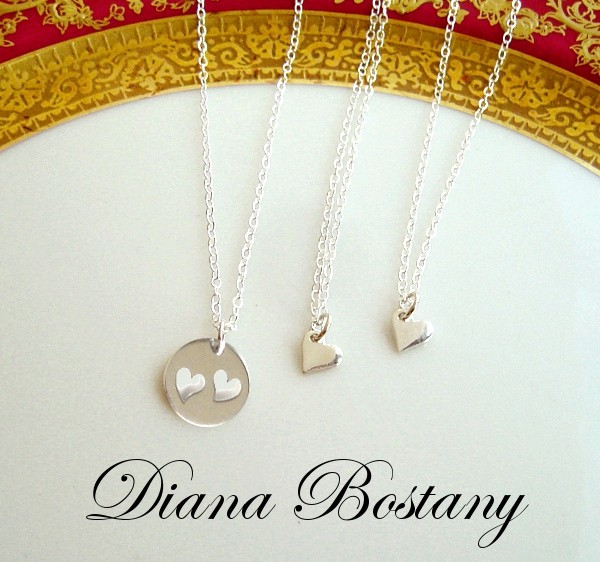 Mother 2 Daughters Necklace Set Sterling
